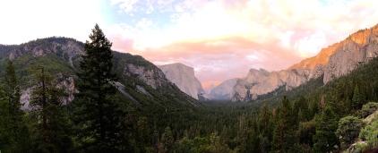 Yosemite overlook June 2014