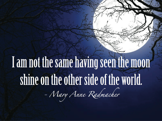 Quote by Mary Anne Radmacher. Image created using Adobe Illustrator.