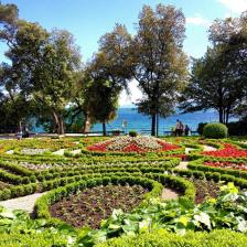 """#nofilter shot of the garden in front of Villa Angiolina in Opatija, Croatia in May 2013. To read up on this beautiful place, check out the """"Opatija, Croatia - A Hidden Gem"""" post on the blog."""